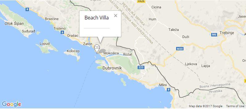 beach-villa-map-lozica-dubrovnik-riviera