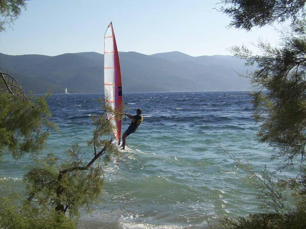 Viganj Bay Windsurfing, Peljesac Peninsula