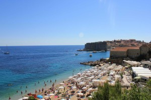 Banje Beach Is Probably Dubrovnik S Most Stunning Located Right In Front Of Old Town If You Do Nothing Else Have To Spend An Hour On