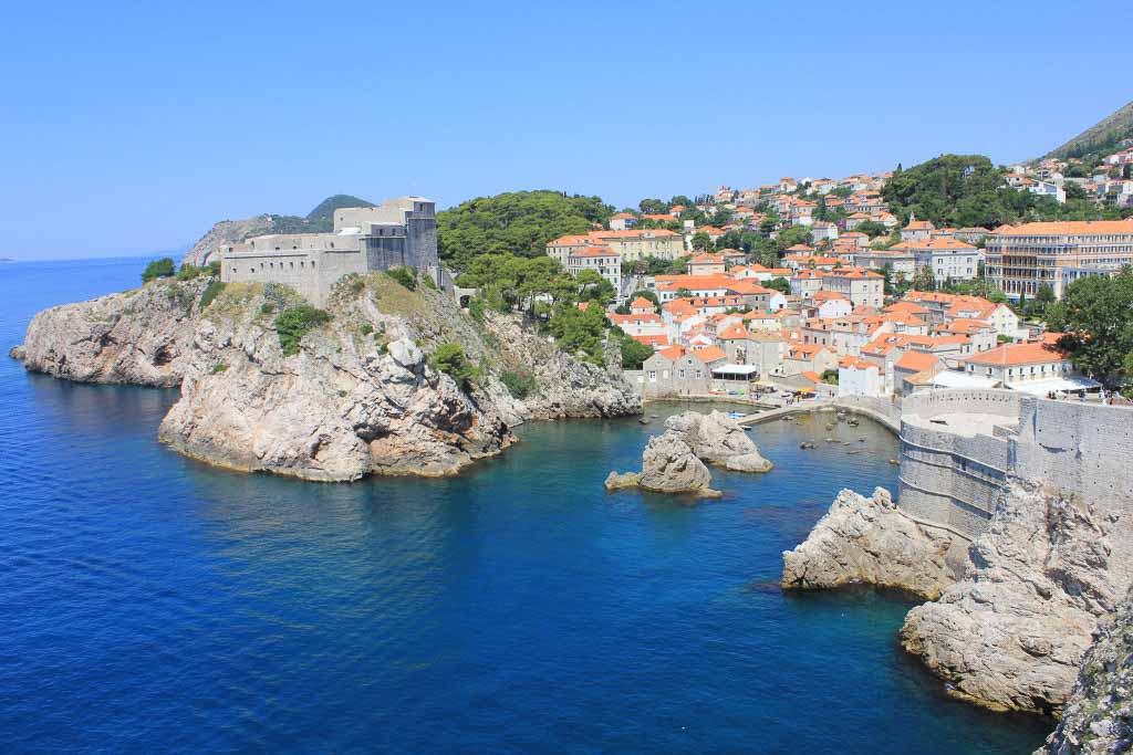 Kings Landing, Game of Thrones, Dubrovnik Old Town Aerial