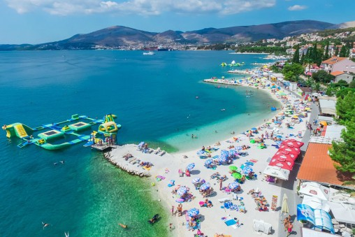 Okrug Gornji Beach, Ciovo, Trogir, Split Riviera TH