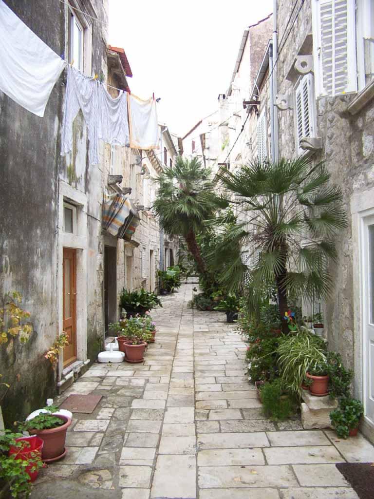 Orebic Old Town Street