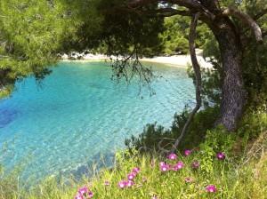 Beach, Mljet Island