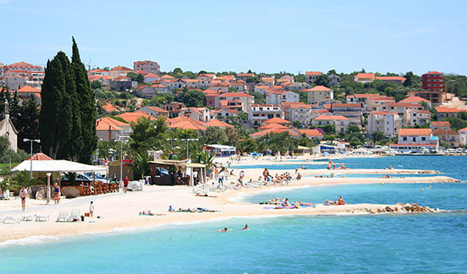 Okrug Gornji Beach, Ciovo, Trogir, Split