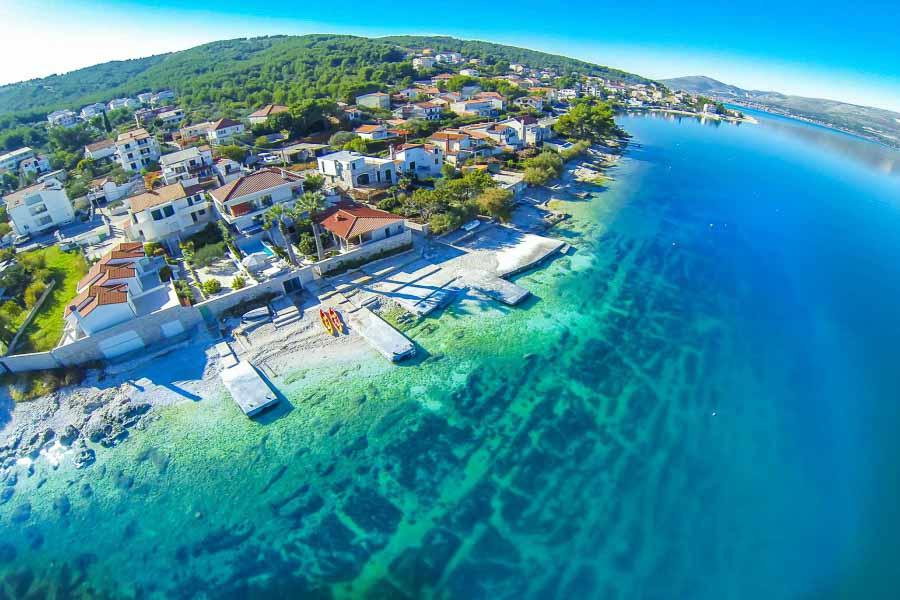 Palm Tree Villa Slatine Bay Split Rriviera TH