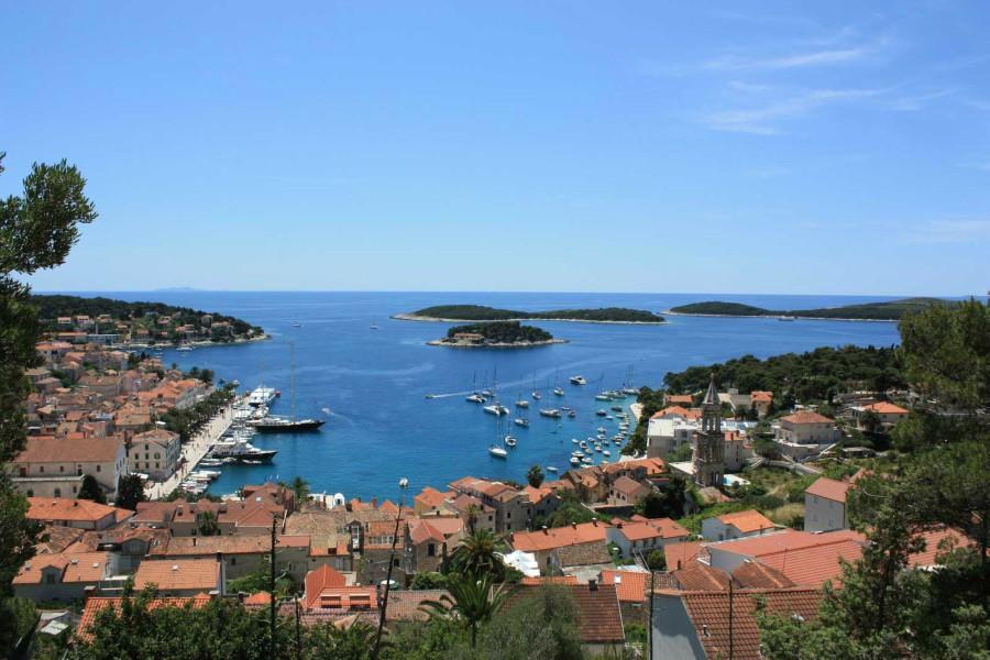 Hvar Town, Hvar Island Excursion TH