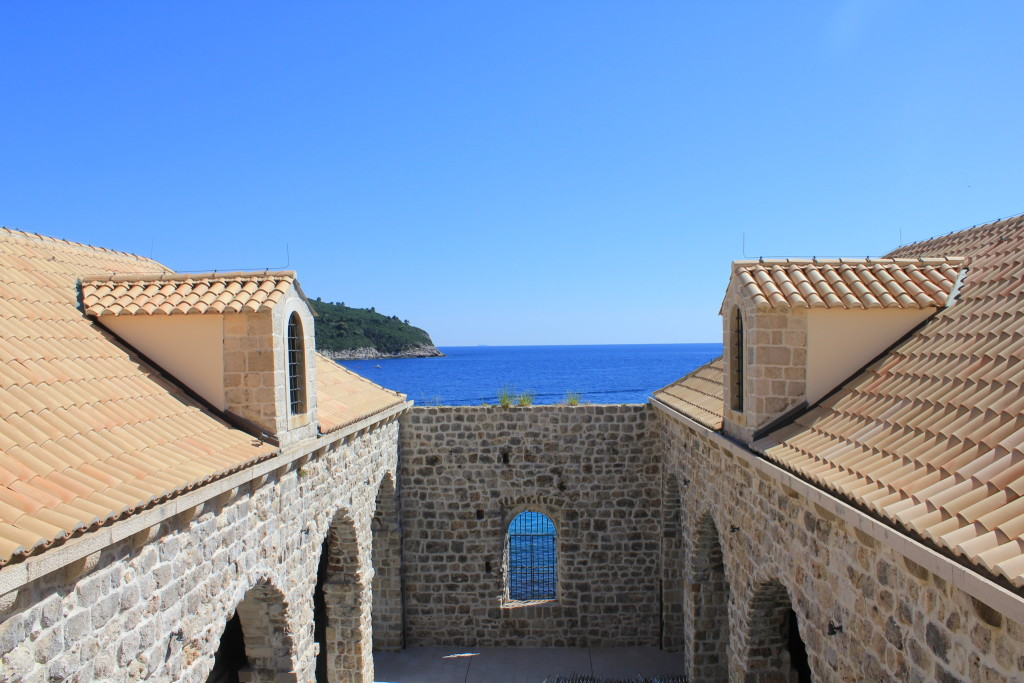 Lazareti, Dubrovnik Old Town Aerial