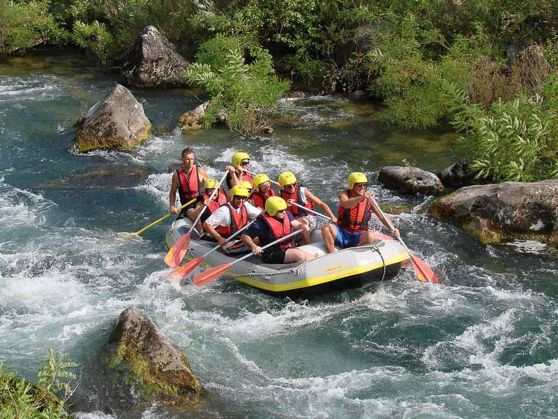 Split & Trogir Excursion - Rafting