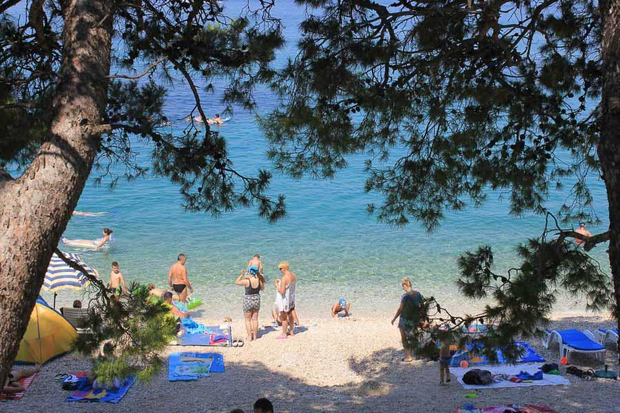 Baska Voda Beach, Makarska Riviera TH
