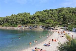 Beach near Splitska, Postira & Supetar, Brac Island