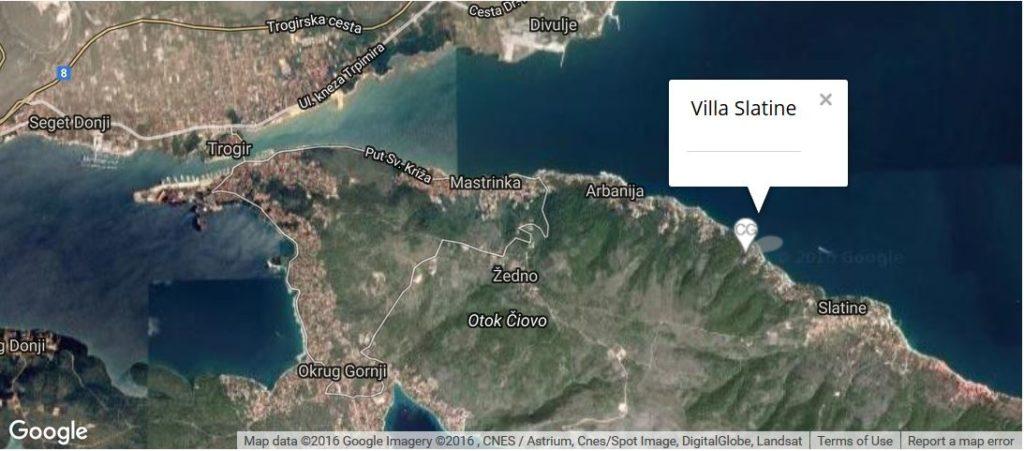 villa-slatine-map-slatine-ciovo-trogir-split-riviera