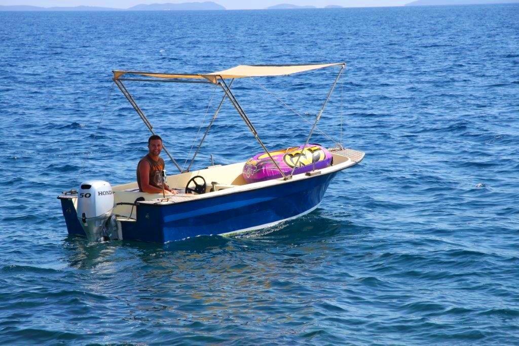 Fisherman at Villa Zavalia, Zavalatica, Korcula Island 2