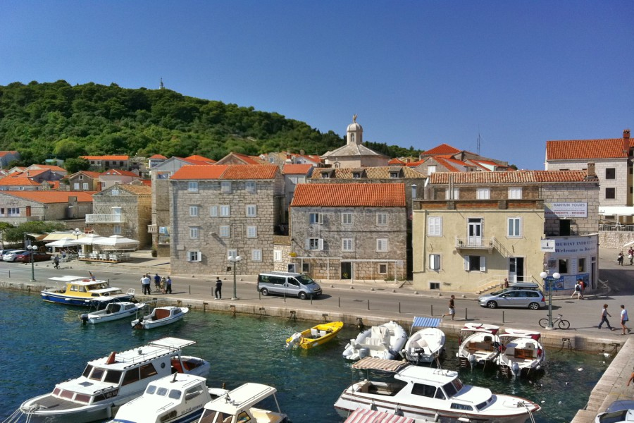 Korcula Old Town Harbour