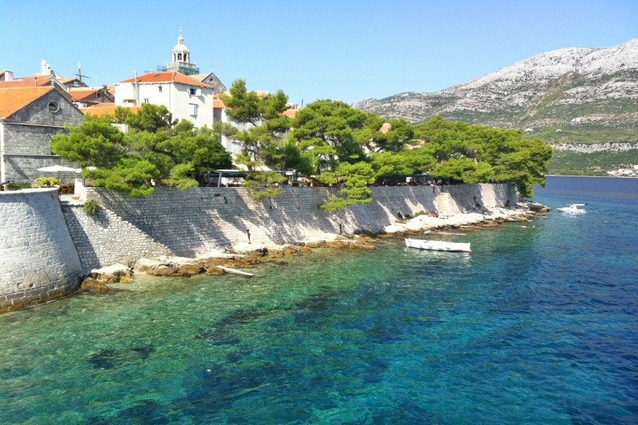 Korcula Old Town by Boat
