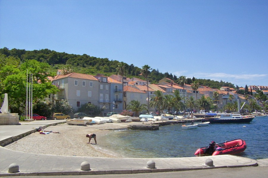 Town Beach Postira, Brac Island