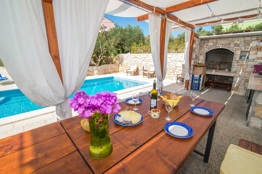 Villa Salamander, Slatine Bay, Ciovo, Trogir, Split Riviera