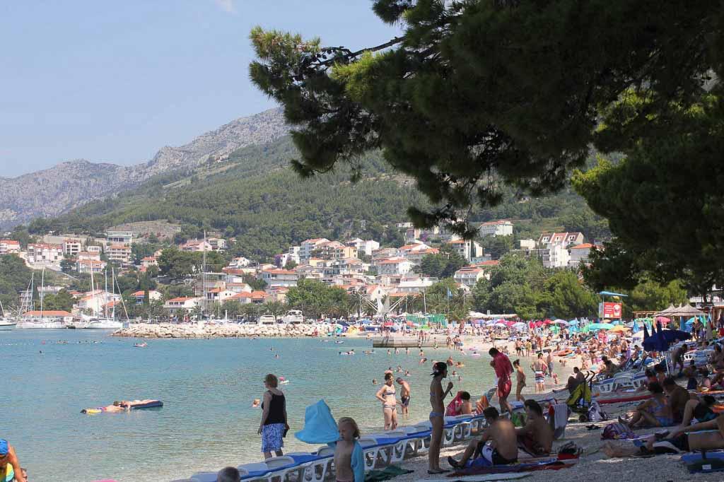 Baska Voda Beach, Makarska Riviera (2)