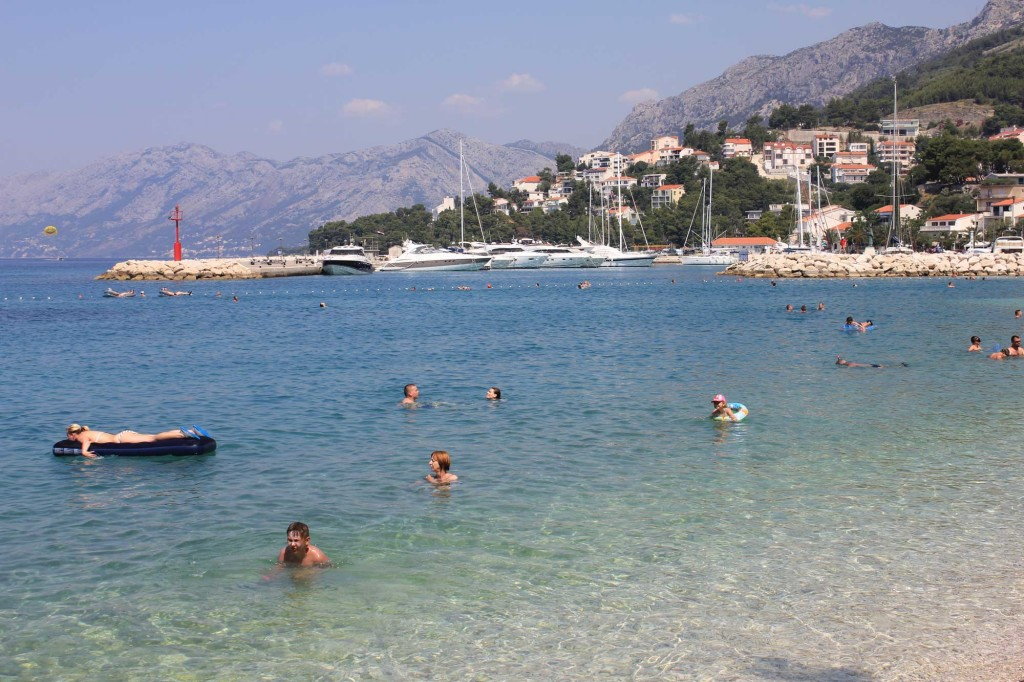 Baska Voda Beach, Makarska Riviera (5)