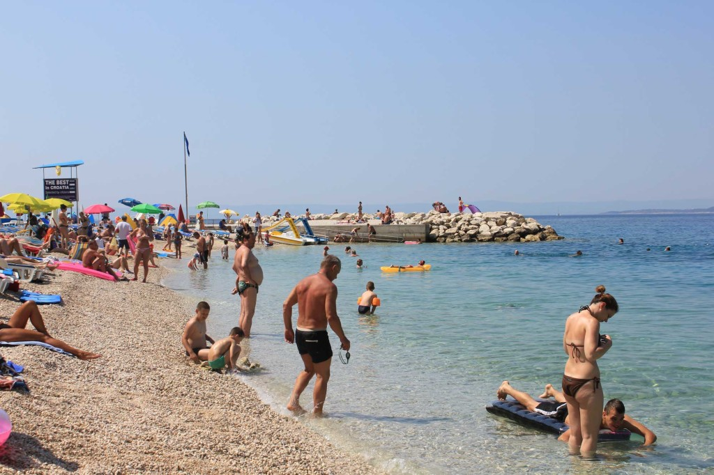 Baska Voda Beach, Makarska Riviera (8)