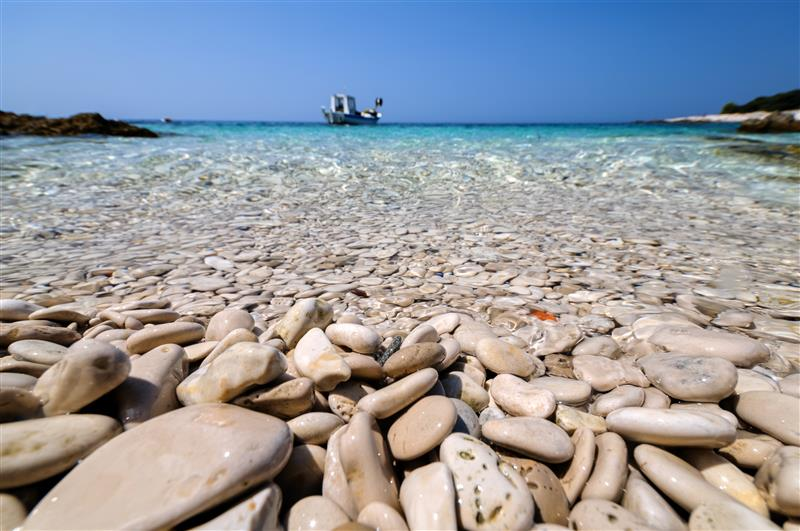 Beach Dugi Otok by Aleksandar Gospic via Croatian National Tourist Board