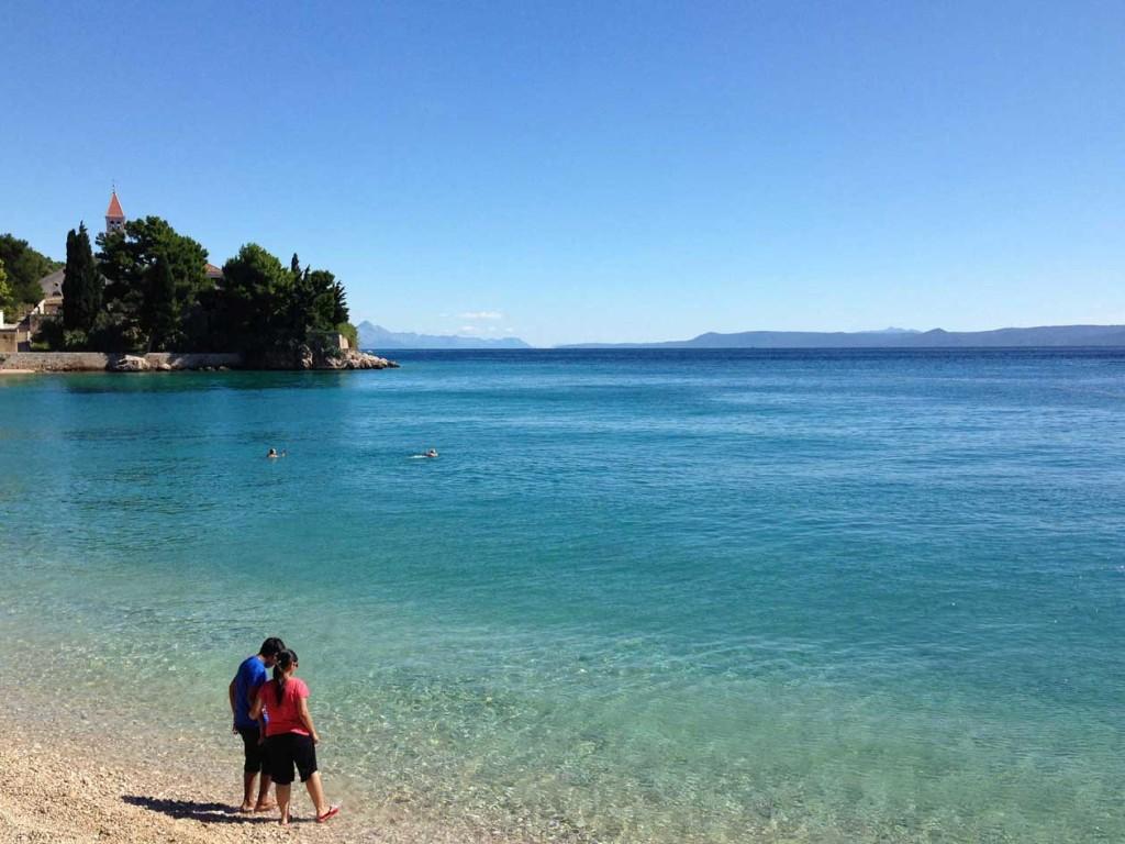 Bol Town Beach, Brac Island (1)