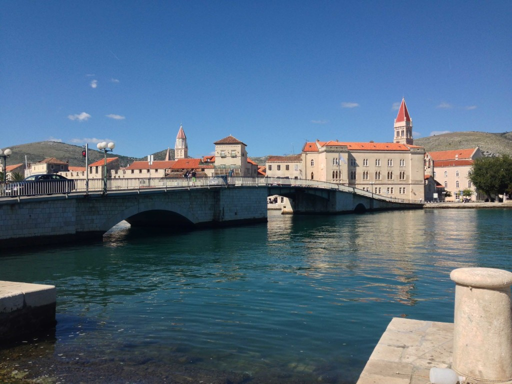 Bridge from Ciovo to Trogir Old Town, Split Riviera
