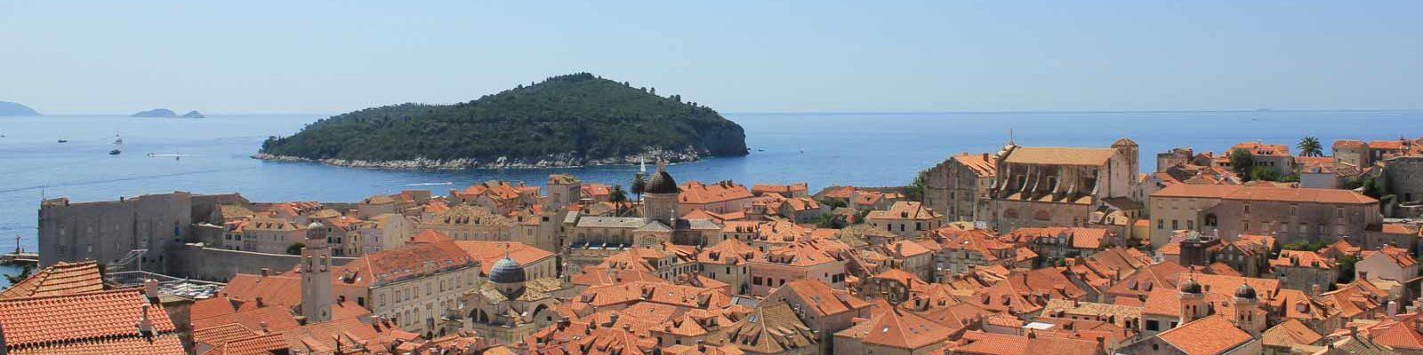 Dubrovnik Lokrum Island strip