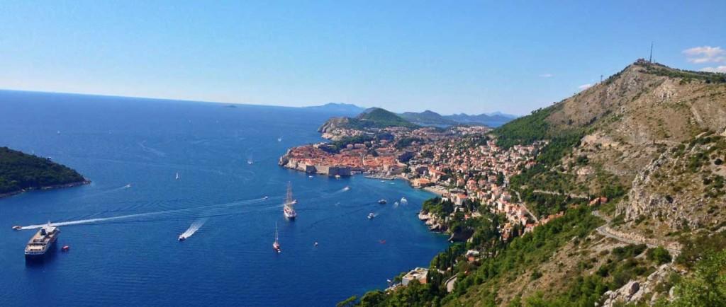 Dubrovnik Old Town (25) Aerial