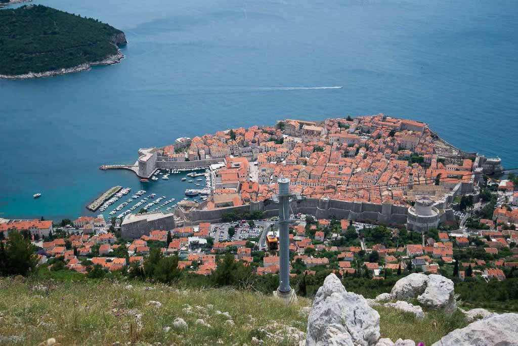 Dubrovnik Old Town (3) Aerial