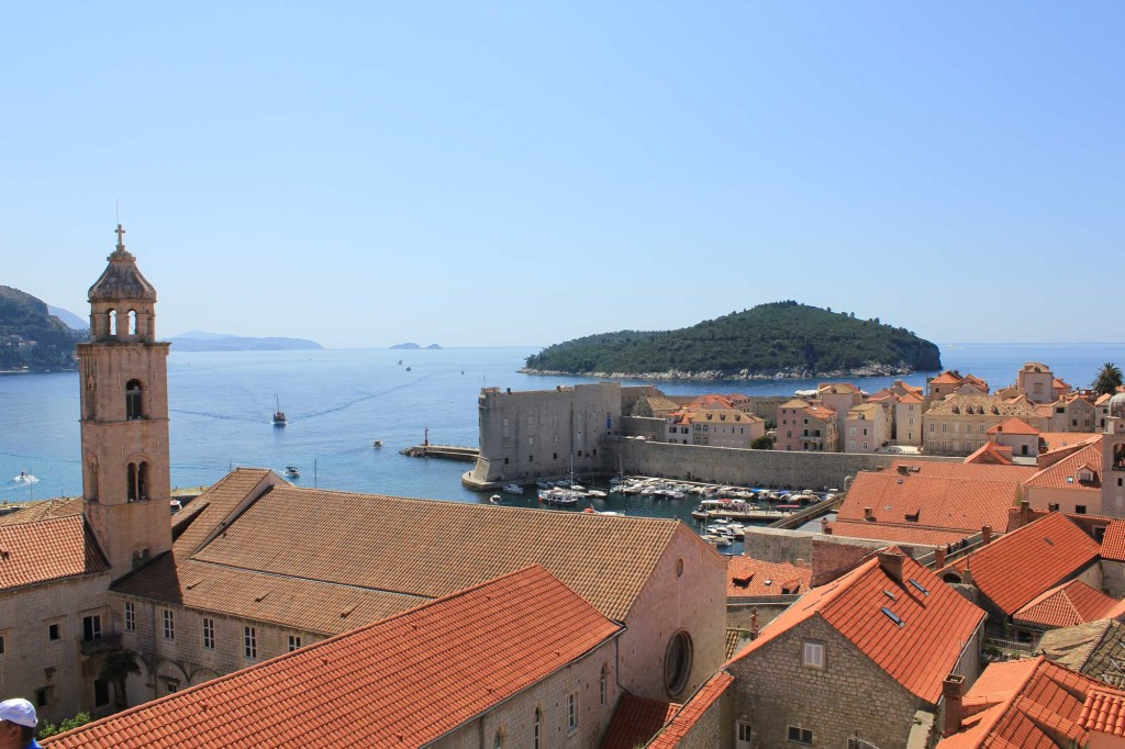 Dubrovnik Old Town (330) Aerial