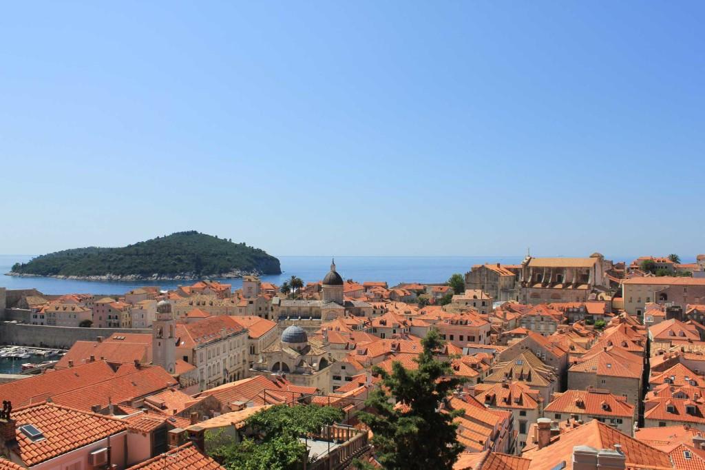 Dubrovnik Old Town (360) Aerial