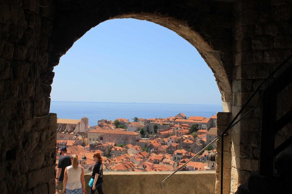 Dubrovnik Old Town (373) Aerial