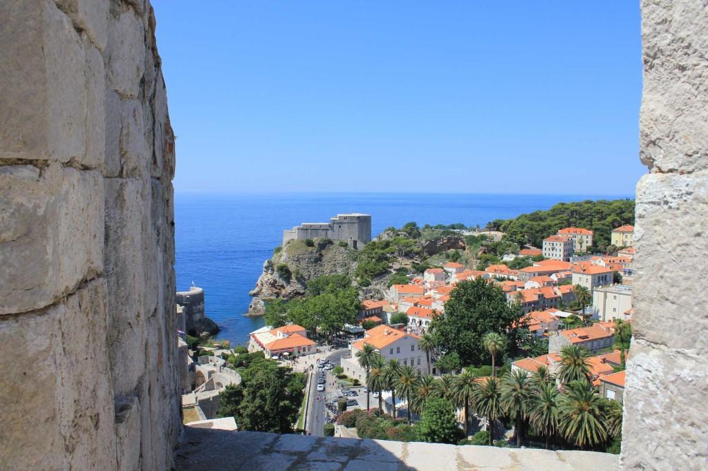 Dubrovnik Old Town (382) Aerial