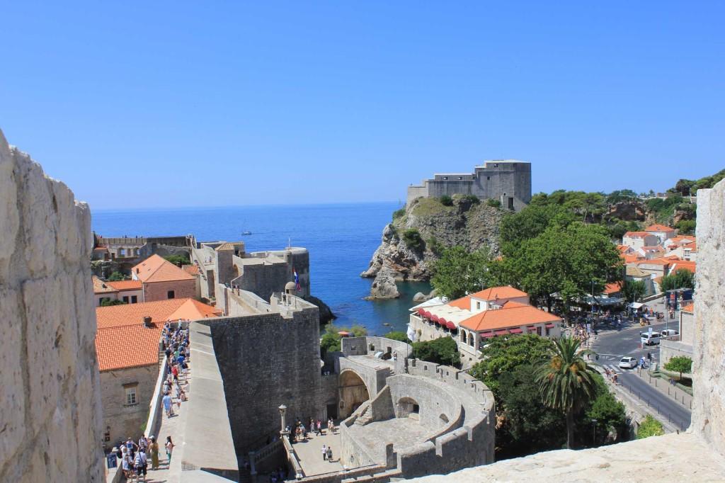Dubrovnik Old Town (406) Aerial