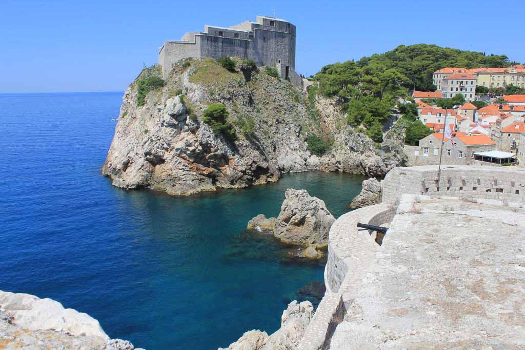 Dubrovnik Old Town (428) Aerial