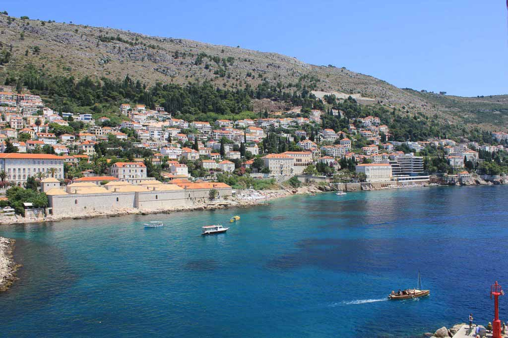 Dubrovnik Old Town (529) Aerial