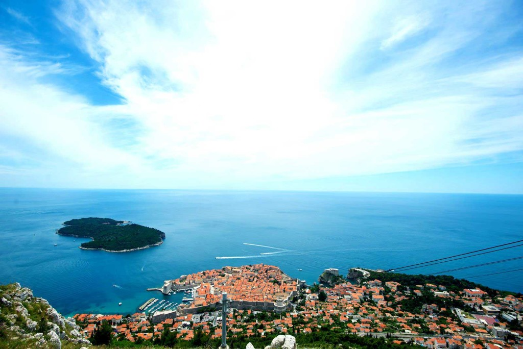 Dubrovnik Old Town (8) Aerial