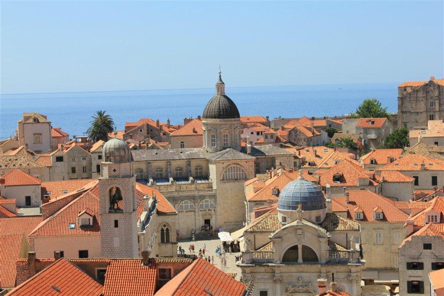 Dubrovnik-Old-Town Aerial