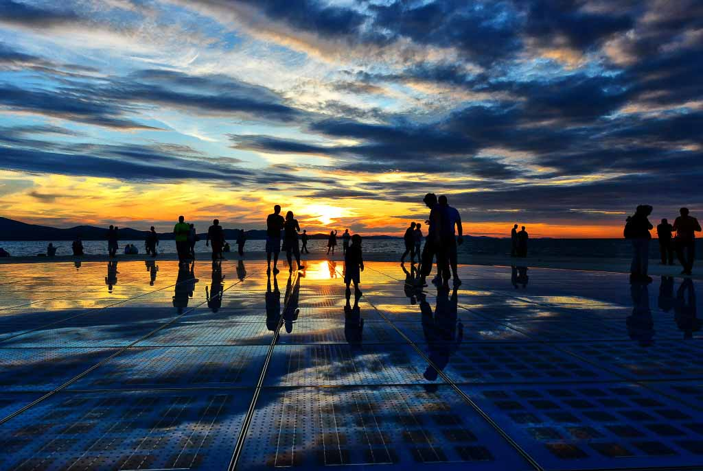 Zadar Sea Organ Croatia Gems