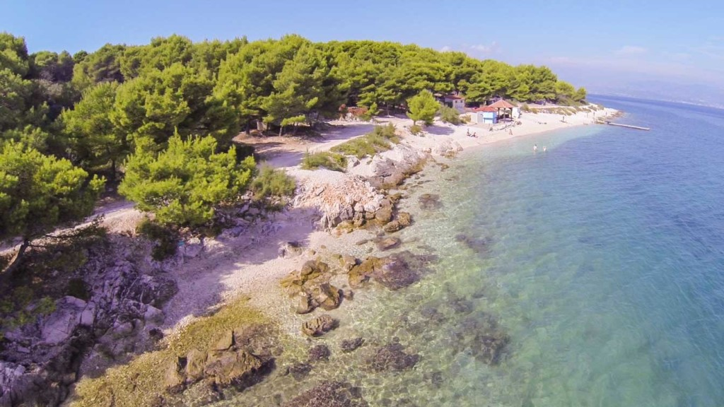 Kava Beach, Slatine, Ciovo, Trogir, Split RIviera (1)