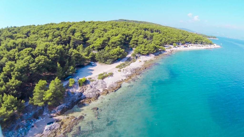Kava Beach, Slatine, Ciovo, Trogir, Split RIviera (3)