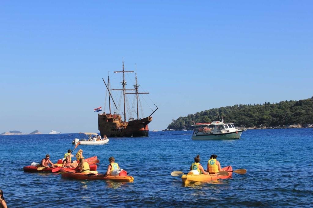 Kayaks, Dubrovnik Old Town (6)