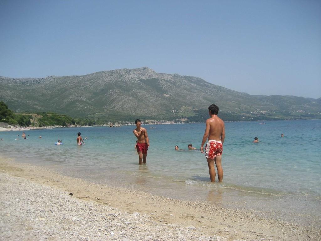 Orebic Main Beach, Peljesac Peninsula