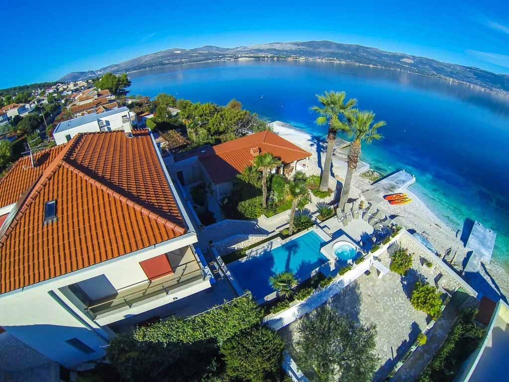 Palm Tree Villa, Slatine, Ciovo, Trogir, Split Riviera (13)