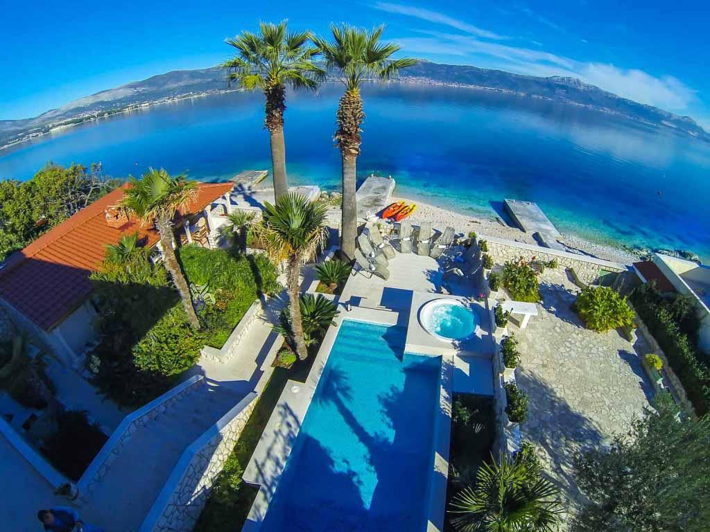 Palm Tree Villa, Slatine, Ciovo, Trogir, Split Riviera (14)