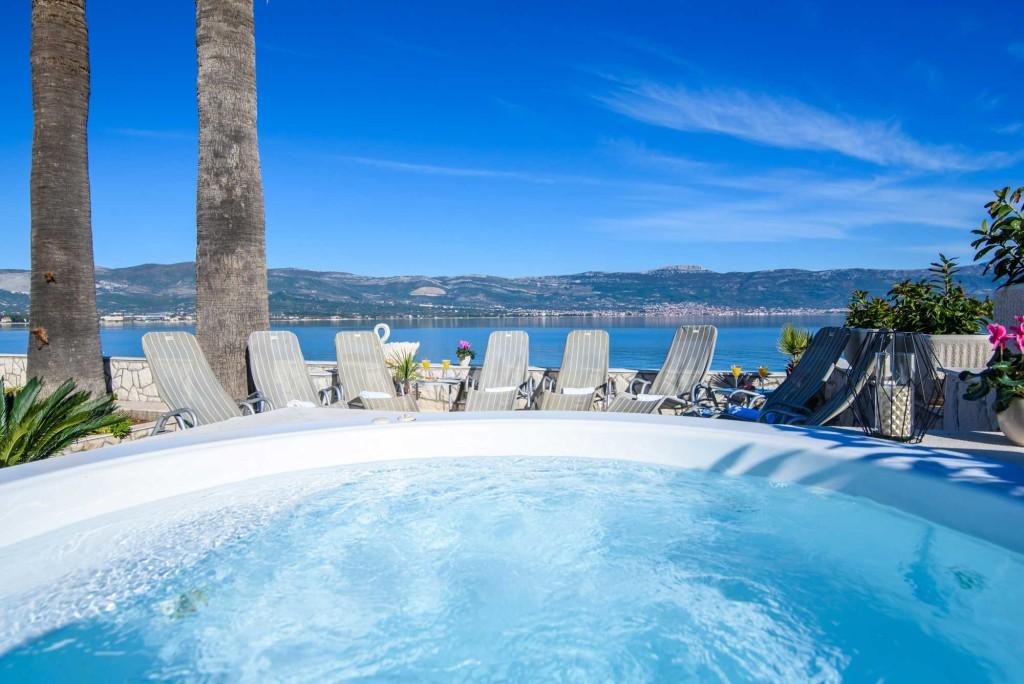 Palm Tree Villa, Slatine, Ciovo, Trogir, Split Riviera (30)