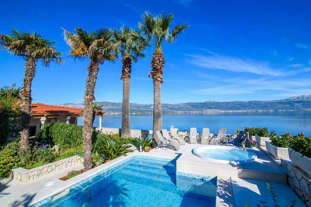 Palm Tree Villa, Slatine, Ciovo, Trogir, Split Riviera (35)
