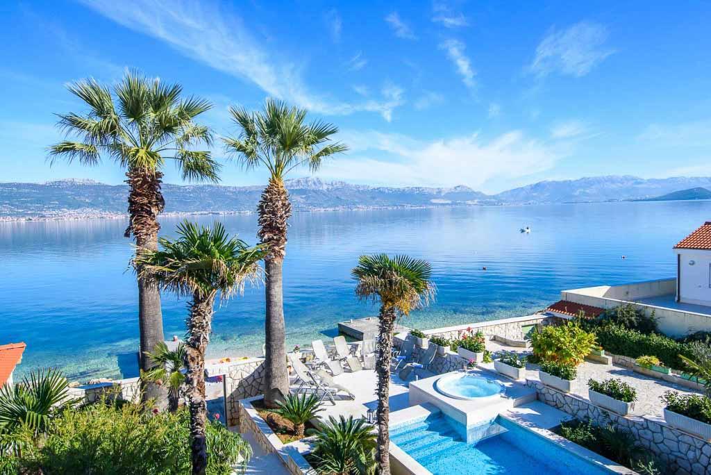 Palm Tree Villa, Slatine, Ciovo, Trogir, Split Riviera (46)