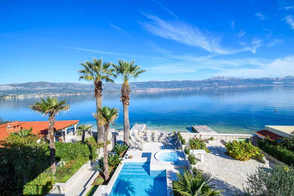 Palm Tree Villa, Slatine, Ciovo, Trogir, Split Riviera (47)