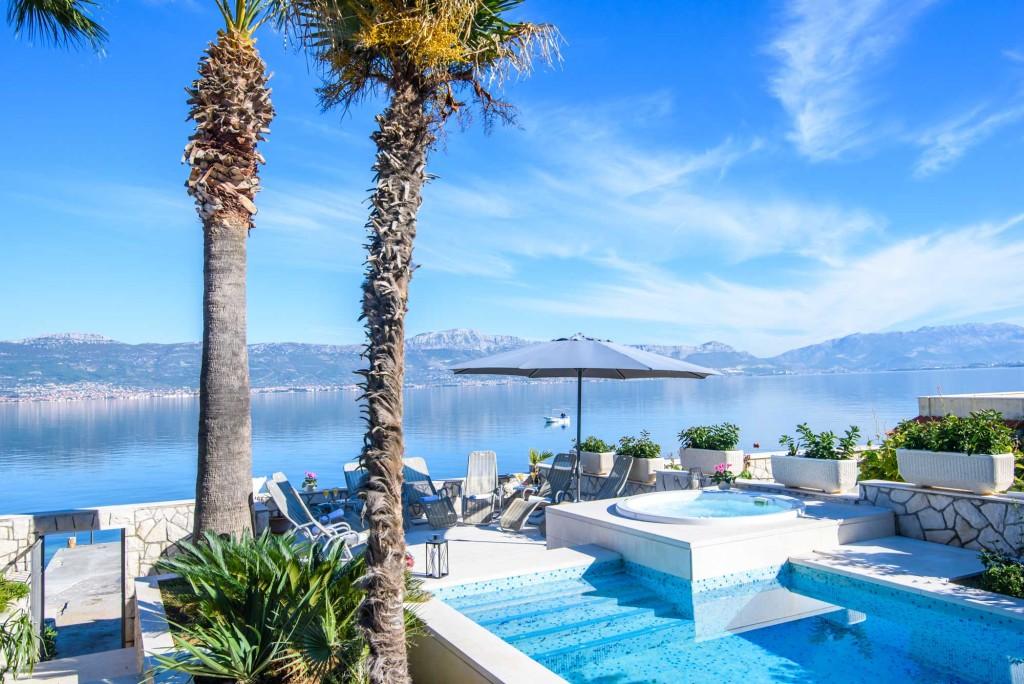 Palm Tree Villa, Slatine, Ciovo, Trogir, Split Riviera (71)